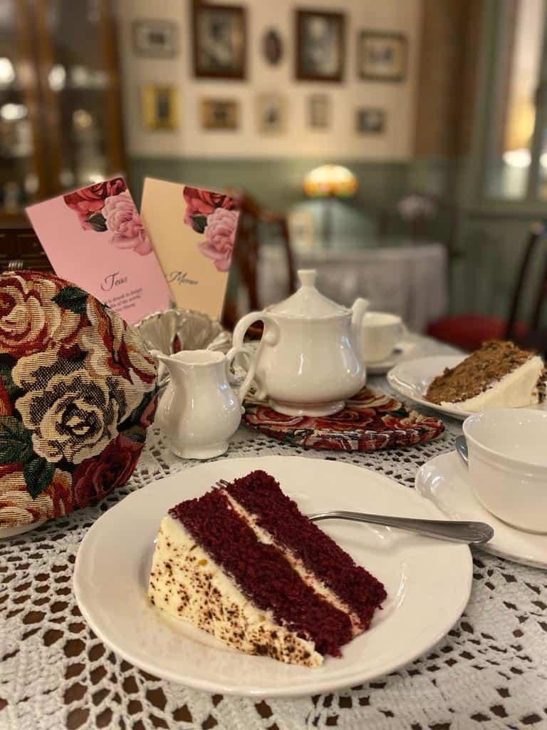 Small Talk Tearooms - cake